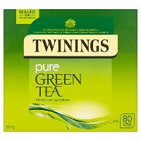 Twinings Pure Green Tea 80 Bag (order 4 for trade outer) / トワイニングピュアグリーンティー80袋(商品アウターため4 )