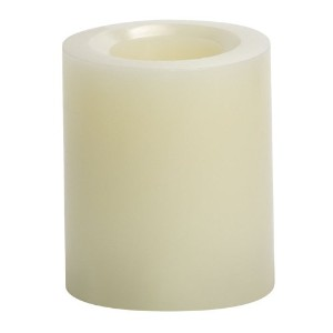 Candle Impressions 4-inch Smooth Flameless Candle ベージュ CAT55090CR00