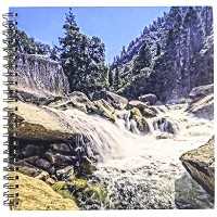 "Boehm写真横 – Mighty Merced River Falls of Yosemite – Drawing Book 8 by 8"" db_186804_1"