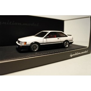1/43 イグニッションモデル ignition model Toyota Corolla Levin (AE86) 2-Door GT Apex White/Black トヨタ カローラ レビン...