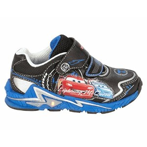 Disney(ディズニー)  Boy's Cars Blue and Black Light-Up Sneakers  カーズのスニーカー【並行輸入品】 (8(15.2cm))