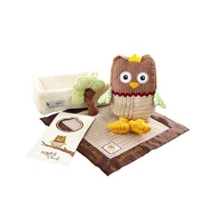 Baby Aspen, My Little Night Owl Five-Piece Baby Gift Set by Baby Aspen