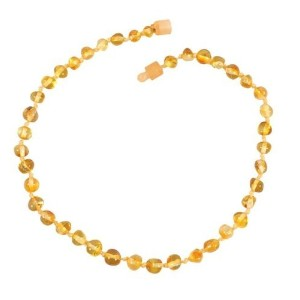 Healing Hazel Baltic Amber Children's Necklace - 12 - Honey by Healing Hazel