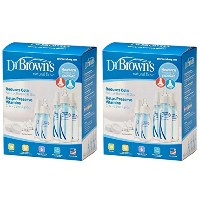 Dr. Browns BPA Natural Flow Bottle Newborn Feeding Set (Packaging May Vary) - 2 Sets by Dr. Brown's