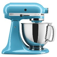 KitchenAid KSM150PSCL Artisan Series 5-Qt. Stand Mixer with Pouring Shield - Crystal Blue by...