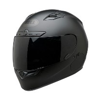 【ダークスモークシールドセット】BELL ベル QUALIFIER DLX BLACKOUT HELMET (INCLUDES CLEAR & TINTED SHIELD) 2017モデル...