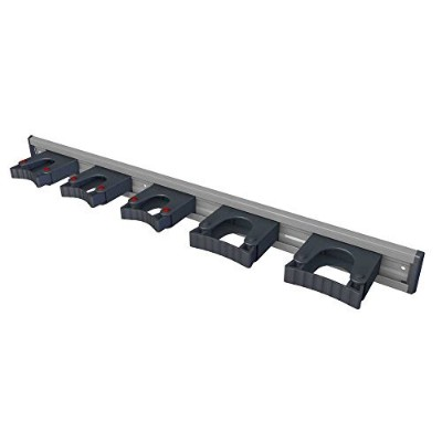 Toolflex Aluminum Rail 90cm (36'') with 5 Mounted Tool Holders. 473-556-1 by Toolflex