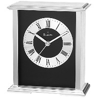Bulova Baron Mantel/Tabletop Clock [並行輸入品]