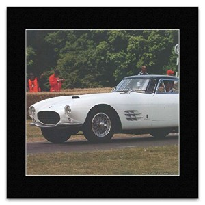 Classic Cars - Ferrari 375 MM Coupe 1955 Mini Poster - 40x40cm