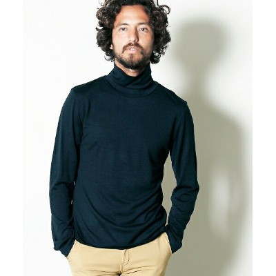 【Magine(マージン)】1732-69-WASHABLE WOOL TURTLE NECK L-S カットソー