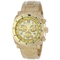 インビクタ 時計 インヴィクタ メンズ 腕時計 Invicta Men's 0619 II Collection Chronograph Gold Dial 18k Gold-Plated...