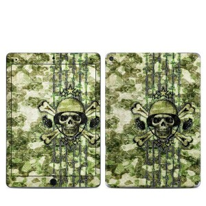 【Decalgirl】Apple iPad Pro9.7/iPad Pro12/iPad Air2/iPad Air/iPad3/iPad2/iPad用スキンシール【Camo Skull】...