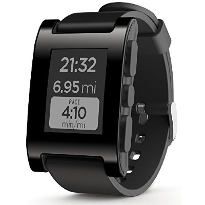 Pebble E-Paper Watch for iPhone and Android 【Kickstarterエディション】 (ブラック)