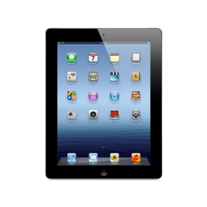 【中古】【安心保証】 SoftBank iPad3[セルラー64GB] ブラック
