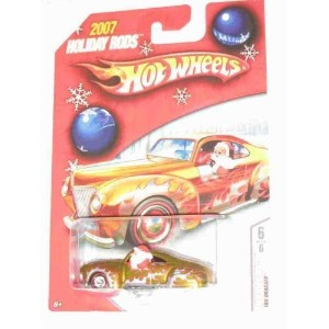 【送料無料】【Hot Wheels 2007 Holiday Rods Santa in Tail Dragger 6 of 6】 b000xyhemk