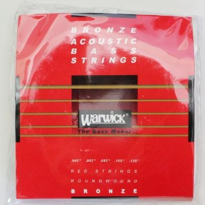 WARWICK 35301 LOS5 RED BRONZE Acoustic 5-string Long scale 045-135 アコースティックベース弦