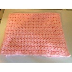 Baby Gift Blanket Handmade In USA (Pink) by Lullaby Gift Shop