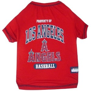 Los Angeles Angels Baseball Dog Shirt Small