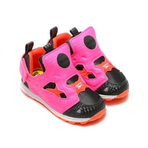 Reebok VERSA PUMP FURY SYN(リーボック バーサ ポンプ フューリー SYN)CALL/POISON PINK/ATOMIC RED/WHITE【キッズ スニーカー】16FW...