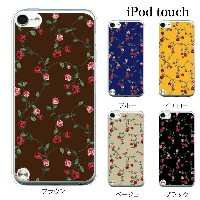 iPod touch 5 6 ケース iPodtouch ケース アイポッドタッチ6 第6世代 ローズ ツリー 薔薇 バラ / for iPod touch 5 6 対応 ケース カバー かわいい...