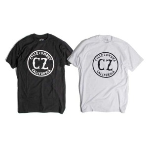 CYCLE ZOMBIES サイクルゾンビーズ CALIFORNIA S/S T-SHIRT Tシャツ 半袖 2色(BLACK/WHITE)