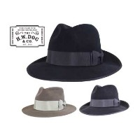 ★SALE 30%OFF★ THE H.W.DOG & co. ドッグ FRONT 6.5 ANTELOPE ラビットファー 3色(BLACK/CHARCOAL GRAY/BEIGE)