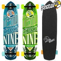 SECTOR 9 CARBON FLIGHT Complete PS147C セクターナイン スケートボード SECTOR NINE