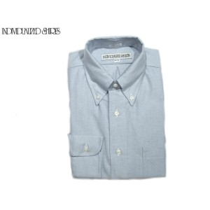 【期間限定30%OFF!】INDIVIDUALIZED SHIRTS(インディビジュアライズド シャツ)/L/S CLASSIC FIT B.D. REGATTA OXFORD SHIRTS/blue