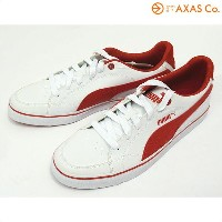 PUMA(プーマ) Court Point Vulc Col.White-high risk red