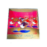 Andy Warhol 『THE NEW SPIRIT ドナルドダック(DONALD DUCK』  【中古】
