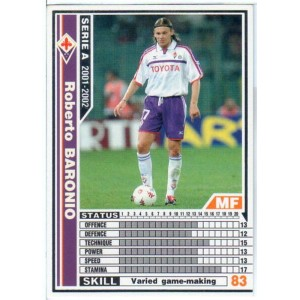 [WCCF]SERIE A 2001-2002Ver.1 073/288「ロベルト・バローニオ」白カード【中古】
