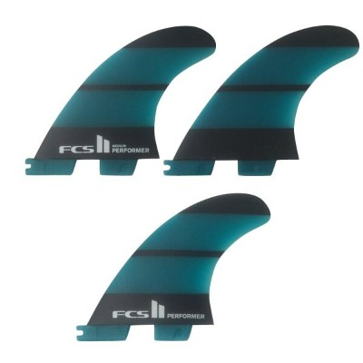 FCS2 PERFORMER MEDIUM Neo Glass THRUSTER 3FINS ハイパフォーマンスフィン/ショートボード サーフィン【RCP】
