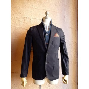 ★SCOTCH&SODAスコッチアンドソーダ★City blazer in pique quality with inner gilet. Sold with pochetTailored...