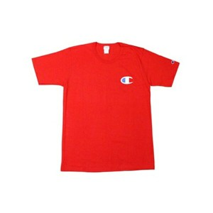 CHAMPION LIFE PATRIOTIC C LOGO S/S T-SHIRTS (TEAM RED SCARLET)チャンピオン/Tシャツ/赤