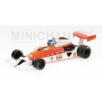 McLARENマクラーレン | F1 FORD M26N 8 SEASON 1978 P.TAMBAY | WHITE RED /Minichampsミニチャンプス 1/43 ミニカー