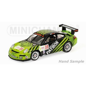 PORSCHEポルシェ | 911 997 GT3 CUP N 8 IMSA GT3 SFIDA 2009 ED BROWN | GREEN BLACK /Minichampsミニチャンプス 1...