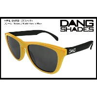 DANG SHADES SWITCH GLOSS YELLW/BLACK x BLACK vidg00119 カラーレンズ トイサングラス