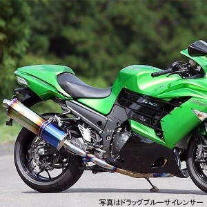 WK22-01CF アールズギア r's gear フルエキゾースト ワイバン 12年以降 ニンジャ ZX-14R 真円カーボン
