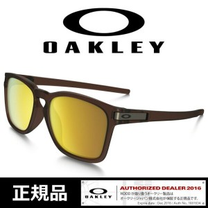 オークリー サングラス OAKLEY ラッチ 日本正規品 【 LATCH SQ/Matte Root Beer/24K Iridium】Asia Fit[009358-05] SUNGLASS...
