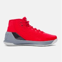 "Under Armour Curry 3 ""TCC"" キッズ/レディース Red/Steel/Metallic Silver アンダーアーマー Stephen Curry ステフィン・カリー バッシュ"