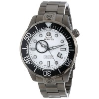 インビクタ 時計 インヴィクタ メンズ 腕時計 Invicta Men's 13701 Pro Diver Automatic White Textured Dial Gunmetal Ion...