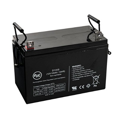 Power PRC-12120 12V 100Ah UPS バッテリー - This is an AJC ブランド Brand リプレイスメント (海外取寄せ品)