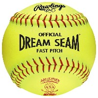 ローリングス レディース 野球 ボール【Rawlings Dream Seam ASA/NFHS Fastpitch Softballs】0
