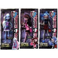 Monster High モンスターハイ Scaris City of Frights Set of 3 BASIC Dolls [Draculaura, Abbey Bominab