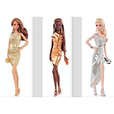 The Barbie Look City Shine Trio Bundle - Silver, Gold and Bronze