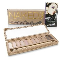 Urban DecayNaked 3 Eyeshadow Palette: 12x Eyeshadow 1x Doubled Ended Shadow/Blending BrushアーバンディケイNa...