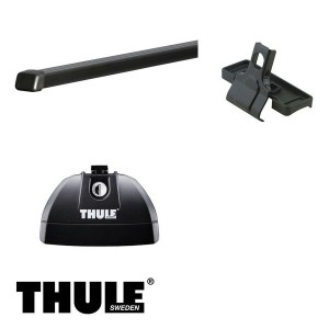 THULE/スーリー CR-V ルーフレールなし H13/9~H18/10 RD4,RD5,RD6,RD7 キャリア 車種別セット/753+761+3050