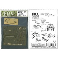 1/48 M10 Armour roof&Hedberow Cutter(T社1/48 M10 llC対応)【FOXモデル】