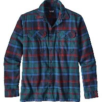 パタゴニア メンズ ジャケット&ブルゾン アウター Patagonia Fjord Flannel Shirt - Men's Buckstop Plaid/Big Sur Blue
