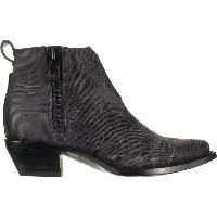 フライ レディース ブーツ&レインブーツ シューズ Frye Sacha Moto Shortie Boot - Women's Charcoal/Cut Vintage Leather